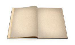 το βιβλίο απομόνωσε παλαιό ανοικτό Στοκ Φωτογραφία
