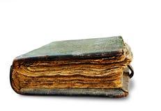 το βιβλίο απομόνωσε το παλαιό λευκό Στοκ φωτογραφία με δικαίωμα ελεύθερης χρήσης