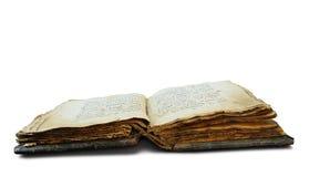 το βιβλίο απομόνωσε το παλαιό λευκό Στοκ Εικόνες
