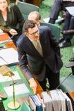 Το βικτοριανό κρατικό Κοινοβούλιο - ώρα των ερωτήσεων Στοκ φωτογραφία με δικαίωμα ελεύθερης χρήσης