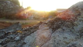 Το βουνό κούτσουρων στοκ φωτογραφία