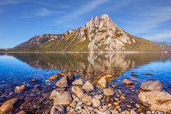 Το βουνό σε SAN Carlos de Bariloche Στοκ Φωτογραφία