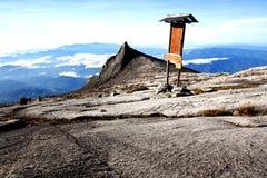 Το βουνό στην Ασία, νότια αιχμή τοποθετεί Kinabalu στοκ εικόνες