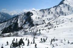 Το βουνό στην Ιαπωνία Στοκ Εικόνες