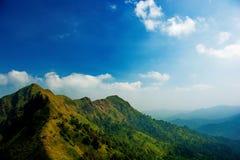Το βουνό, Ταϊλάνδη Στοκ Φωτογραφίες
