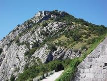 Το βουνό Bastille στη Γκρενόμπλ στοκ εικόνα με δικαίωμα ελεύθερης χρήσης