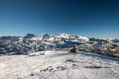 Το βουνό Dachstein Στοκ εικόνες με δικαίωμα ελεύθερης χρήσης
