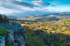 Το βουνό Demerdji Alushta, Κριμαία, Στοκ φωτογραφίες με δικαίωμα ελεύθερης χρήσης