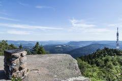 Το βουνό donon, Vosges Γαλλία Στοκ Εικόνες