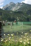 Το βουνό Koenigssee βλέπει Στοκ φωτογραφία με δικαίωμα ελεύθερης χρήσης