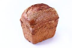 Το βούτυρο με το ψωμί απομόνωσε το άσπρο υπόβαθρο Στοκ φωτογραφία με δικαίωμα ελεύθερης χρήσης
