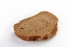 Το βούτυρο με το ψωμί απομόνωσε το άσπρο υπόβαθρο Στοκ Εικόνες