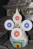 Το βούτυρο προσφέρεται στο Βούδα στο βουδισμό στοκ εικόνες με δικαίωμα ελεύθερης χρήσης