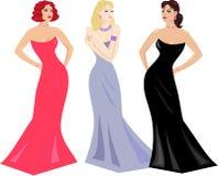 το βράδυ ντύνει makeup τις γυναί& απεικόνιση αποθεμάτων
