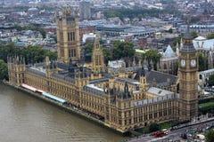 το βρετανικό Κοινοβούλιο Στοκ Εικόνες