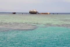 Το βυθισμένο σκάφος Στοκ φωτογραφία με δικαίωμα ελεύθερης χρήσης