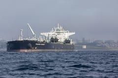Το βυτιοφόρο αργού πετρελαίου ταξιδιών Pegasus Στοκ Εικόνα