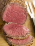 το βόειο κρέας Βρετανοί χάρασε roast την επάνω πλευρά Στοκ Εικόνες