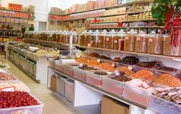 Το βλέμμα μέσα στο κινεζικό κατάστημα Στοκ εικόνες με δικαίωμα ελεύθερης χρήσης