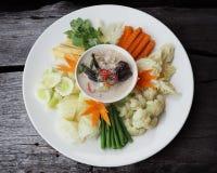 Το γάλα καρύδων σιγοβράζει αλατισμένο stew καβουριών Στοκ φωτογραφία με δικαίωμα ελεύθερης χρήσης