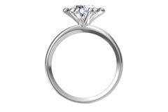 Το γαμήλιο δαχτυλίδι ομορφιάς Στοκ εικόνα με δικαίωμα ελεύθερης χρήσης