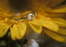Το γαμήλιο δαχτυλίδι στοκ φωτογραφίες με δικαίωμα ελεύθερης χρήσης