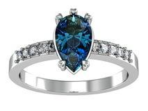 Το γαμήλιο δαχτυλίδι ομορφιάς Στοκ Εικόνες