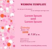 Το γαμήλιο πρότυπο αυξήθηκε Στοκ φωτογραφίες με δικαίωμα ελεύθερης χρήσης