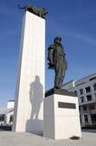 Το γενικό άγαλμα Stefanik Στοκ Φωτογραφίες