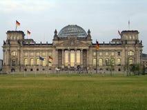 το γερμανικό Κοινοβούλ&iota Στοκ Εικόνες