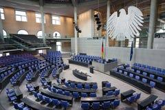 το γερμανικό Κοινοβούλ&iota Στοκ φωτογραφία με δικαίωμα ελεύθερης χρήσης