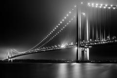 Το γεφύρωμα Verrazano στενεύει στοκ φωτογραφία με δικαίωμα ελεύθερης χρήσης