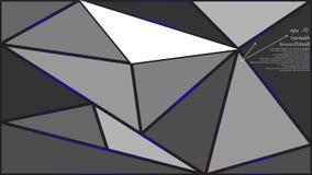 Το γεωμετρικό διάνυσμα υποβάθρου σύστασης αφηρημένο μπορεί να χρησιμοποιηθεί στο σχέδιο κάλυψης, σχέδιο βιβλίων, υπόβαθρο ιστοχώρ διανυσματική απεικόνιση