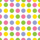 Το γεωμετρικό σχέδιο αποτελείται από τους κύκλους Στο pttern χρησιμοποιούμενο oranje Πράσινος Κόκκινα χρώματα Β Στοκ εικόνες με δικαίωμα ελεύθερης χρήσης