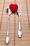 Το γεύμα αγάπης εξυπηρετείται Στοκ φωτογραφία με δικαίωμα ελεύθερης χρήσης