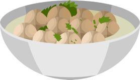 Το γεύμα κεφτών απεικόνιση αποθεμάτων