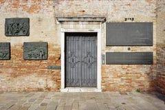 Το γκέτο (Gheto) στη Βενετία στοκ εικόνες