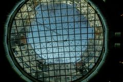 Το γκαζόμετρο της Βιέννης την ηλιόλουστη ημέρα στη Βιέννη, Αυστρία στοκ φωτογραφίες