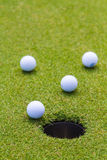 Το γκολφ είναι ένας αθλητισμός που είναι δημοφιλής σε όλο τον κόσμο και το αγαθό για την υγεία στοκ εικόνα με δικαίωμα ελεύθερης χρήσης