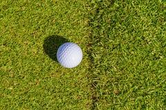 Το γκολφ είναι ένας αθλητισμός που είναι δημοφιλής σε όλο τον κόσμο και το αγαθό για την υγεία στοκ εικόνα