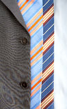 το γκρίζο κοστούμι δένει δύο Στοκ φωτογραφία με δικαίωμα ελεύθερης χρήσης