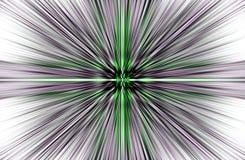 Το γκρίζο υπόβαθρο των ευθέων λωρίδων αποκλίνει από τη μέση στις άκρες όμορφο διάνυσμα Στοκ Εικόνες