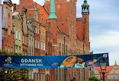 Πόλη του Γντανσκ, Πολωνία στοκ εικόνα