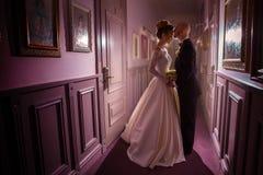 Το γοητευτικό πορτρέτο ακριβώς το ζεύγος Στοκ Φωτογραφία