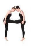 Το γράμμα Α που διαμορφώνεται από Gymnast τους οργανισμούς Στοκ εικόνα με δικαίωμα ελεύθερης χρήσης