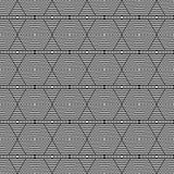 Το γραπτό Hexagon σχέδιο κεραμιδιών επαναλαμβάνει στοκ εικόνες με δικαίωμα ελεύθερης χρήσης