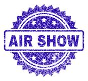 Το γρατσουνισμένο AIR ΠΑΡΟΥΣΙΆΖΕΙ σφραγίδα γραμματοσήμων διανυσματική απεικόνιση
