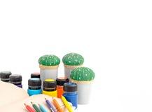 Το γραφείο για το σχολείο της δημιουργικότητας Στοκ Εικόνες