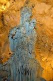 Το γραφικό καρστ σπηλιών Ispingoli είναι φωτισμένο για τους τουρίστες Σαρδηνία Στοκ φωτογραφίες με δικαίωμα ελεύθερης χρήσης
