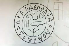 Το γραφικό σύμβολο Στοκ Φωτογραφίες